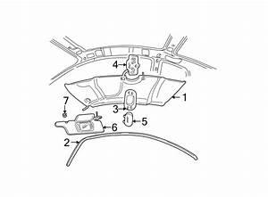 Ford Taurus Courtesy Light Lens  Dual  Lamp  Sunroof