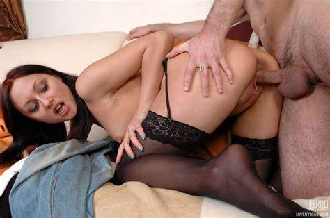 Nylon Girls Assfucked In Doggystyle