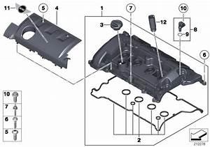 Mini Cooper Sealing Cap  Oil Filler Neck  Convertible  Cylinder  Head