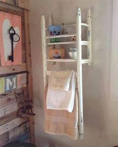 17 best ideas about old ladder on pinterest old ladder With chaise pour salle de bain