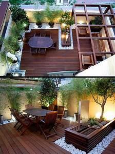 rooftop balcony ideas wowrulercom With delightful idee amenagement jardin de ville 10 comment amenager un petit jardin idee deco original