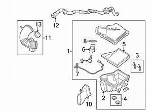 Ford Mustang Engine Air Intake Hose  4 6 Liter  Tube