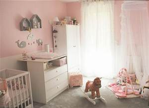 beautiful idee deco chambre bebe fille contemporary With decoration chambre bebe theme jungle