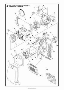 Husqvarna 545 Rx Parts Diagram For Carburetor Air Filter