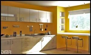 idee couleur de peinture cuisine With idee de couleur de cuisine