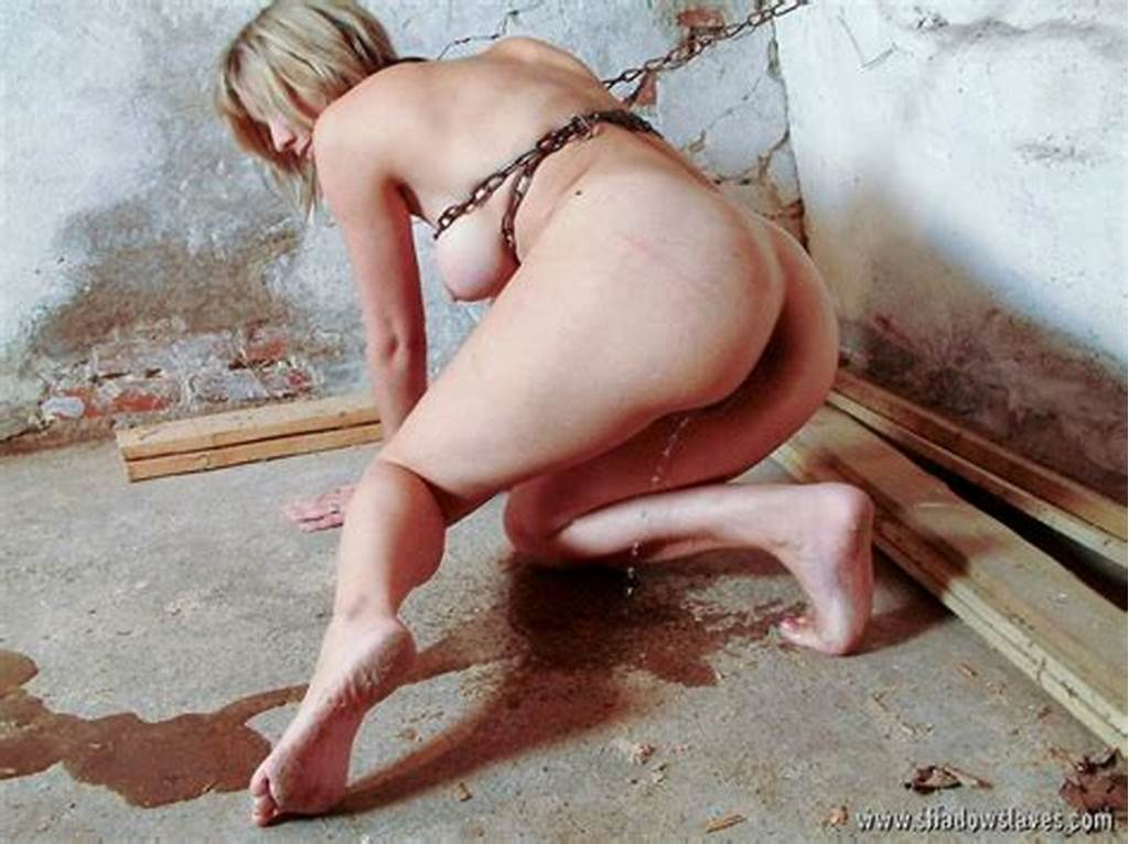 #Chained #Bondage #Slave #In #Rough #Domination #And #Kinky