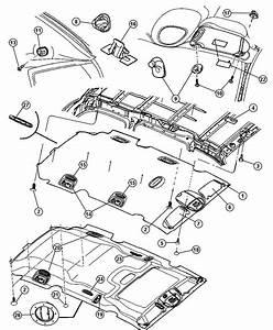 2006 Dodge Grand Caravan Pin  Push Pin  Retainer  Screw