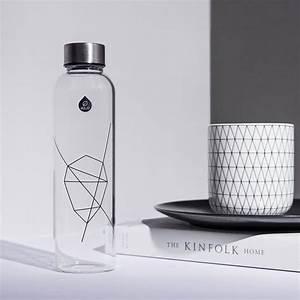 Bouteille Verre 1l : mismatch la bouteille en verre de 1l de equa pimp my bottle ~ Teatrodelosmanantiales.com Idées de Décoration