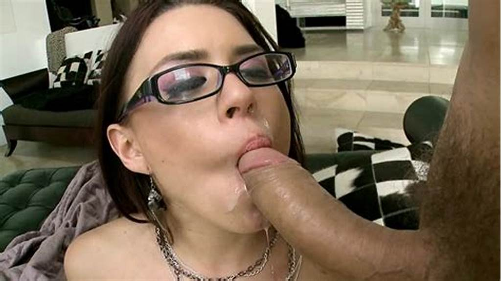 #Eva #Angelina #Sucks #Huge #Cock #And #Gets #Cum #In #Her #Glasses