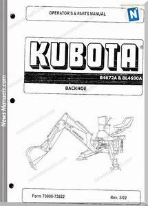 Kubota B4672a Bl4690a Operation Sec Wat