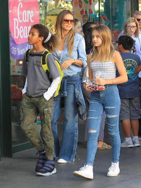 She appeared on the cover of the sports illustrated swi. Heidi Klum Kids / HEIDI KLUM AND SEAL TAKE THEIR KIDS TO ROME ... / With age, helene became very ...