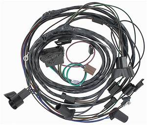 Wiring Harness  Forward Lamp  1968 Gto  Lemans  Tempest  W