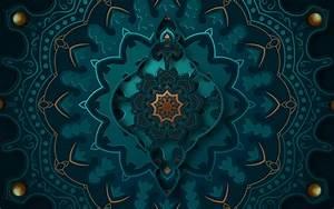 3d, Islamic, Art, Mandala, Design