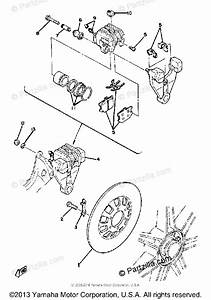 Yamaha Motorcycle 1980 Oem Parts Diagram For Rear Brake