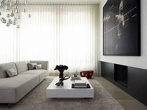Fabulous, And, Modern, Flat, Interior, Design