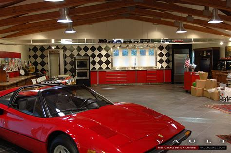 Ferrari garage garage workshop cave style ferrari car. Customize Your Garage Cabinets - Choose a Powder Coating to Match Your Space, Vehicles, or ...