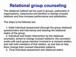 Group Relational Therapy