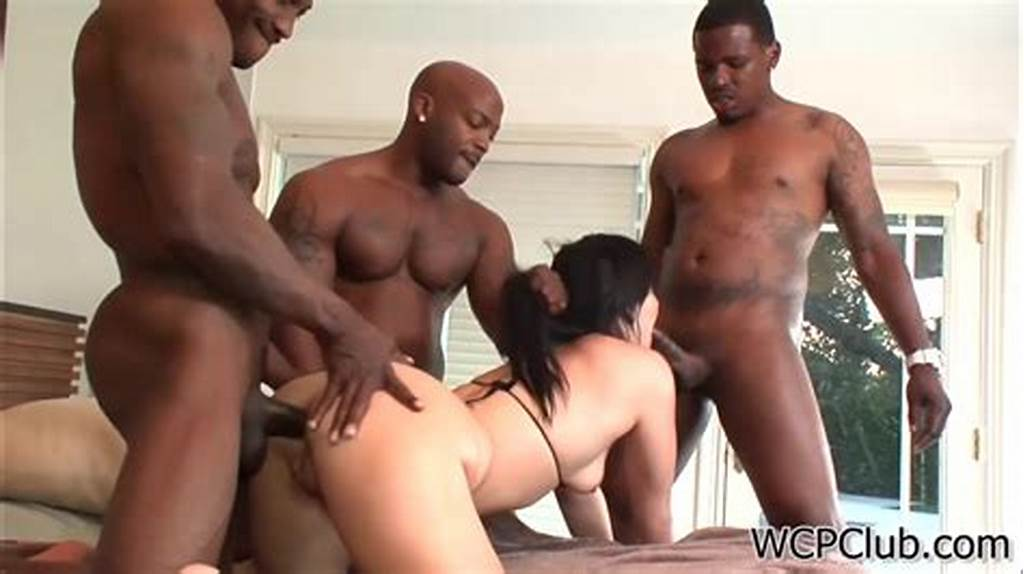 #Extreme #Interracial #Triple #Penetration #For #Booty #White