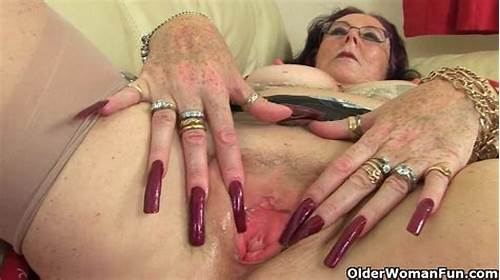 Lezbi Slutty Four Fucked Cunt #Slutty #Granny #With #Sexy #Nail #Makeup #Is #Pleasantly #Stroking
