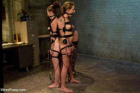 Bdsm Action With A Sultry Tied Up Slave