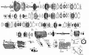 Trans Parts Online A4ld 4r55 Transmission Parts
