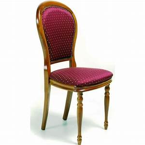 chaise de salle a manger tissu adeline With chaises de salle a manger de style