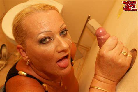 Cam Blonde Bitch Gloryhole Brother Older Mom Aunty Slut Draining Bbc At The Gonzo