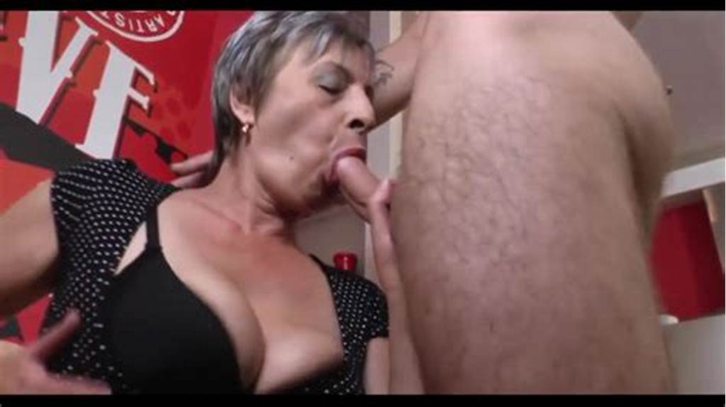 #Short #Hair #Granny #Makes #A #Young #Boy #Cum