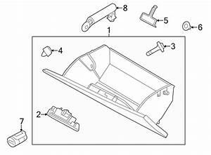 Ford Taurus Glove Box Latch  Stone  Panel  Instrument