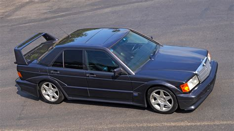 This engine had 235 hp and correspondingly improved performance. 1990 Mercedes-Benz 190 E - 190E 2.5-16 COSWORTH EVO II | Classic Driver Market