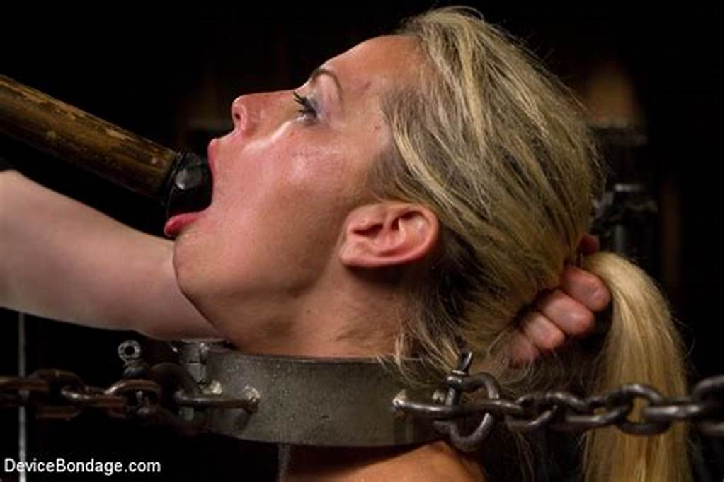 #Blonde #Slut #Elizabeth #Thorn #Gets #Fisted #And #Tied #Up #By #Her