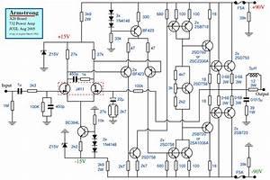 3000watt High Power Amplifier Diagram Com