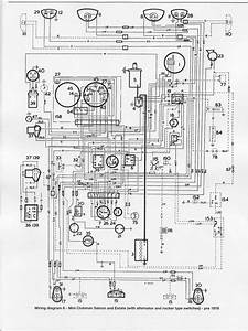 Wiring Diagram Of 1976 Mini Clubman Saloon And Estate