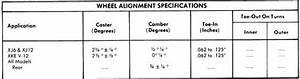 1973 Jaguar Wheel Alignment Guide Auto Motive Repair Guides