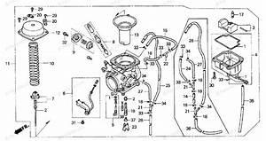 Honda Motorcycle 1994 Oem Parts Diagram For Carburetor