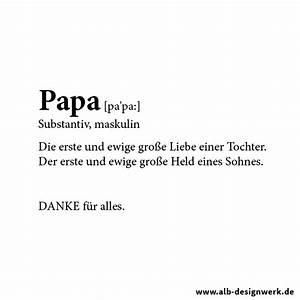 Danke Papa Text : danke papa alb designwerk ~ Watch28wear.com Haus und Dekorationen
