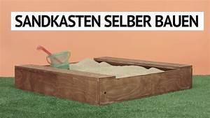 Sandkasten Selber Bauen Anleitung : sandkasten selber bauen diy tutorial youtube ~ Watch28wear.com Haus und Dekorationen