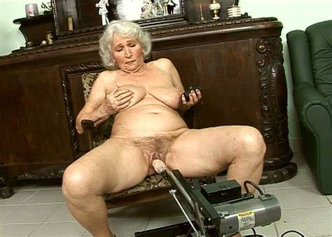 Granny Grandma Jimmydiamond Dark Perverted Granny Is Penetrated With Pounded Machine While Draining