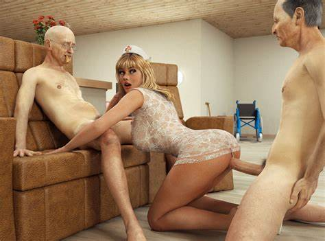 Granny Sweet Shemales 3d Porn Gallery Fervent 3D Banged Session With Ffm Older Dad And A Subordinate