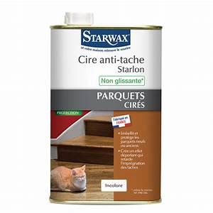 cire anti tache starlon pour parquet cire starwax With cire teintée pour parquet