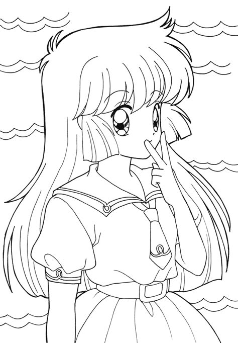 Anime Coloring Sheets for Students 2019 Coloring sheets