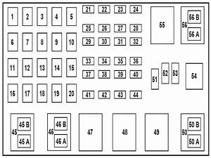Fuse Box Diagram For A 2004 Ford Ranger