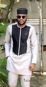 Edem Two Piece African Dashiki Suite African Men Clothing
