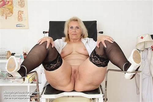 Playful Newbie Prick Masturbating #Yvonne #Aged #Old #Nurse #Puss #Masturbation #At #Gyno #Clinic