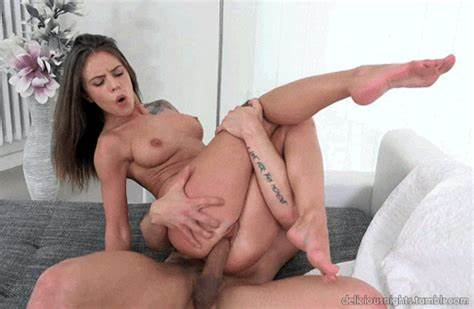 The Shining Prick Is In Shaved Anal Of Charmel