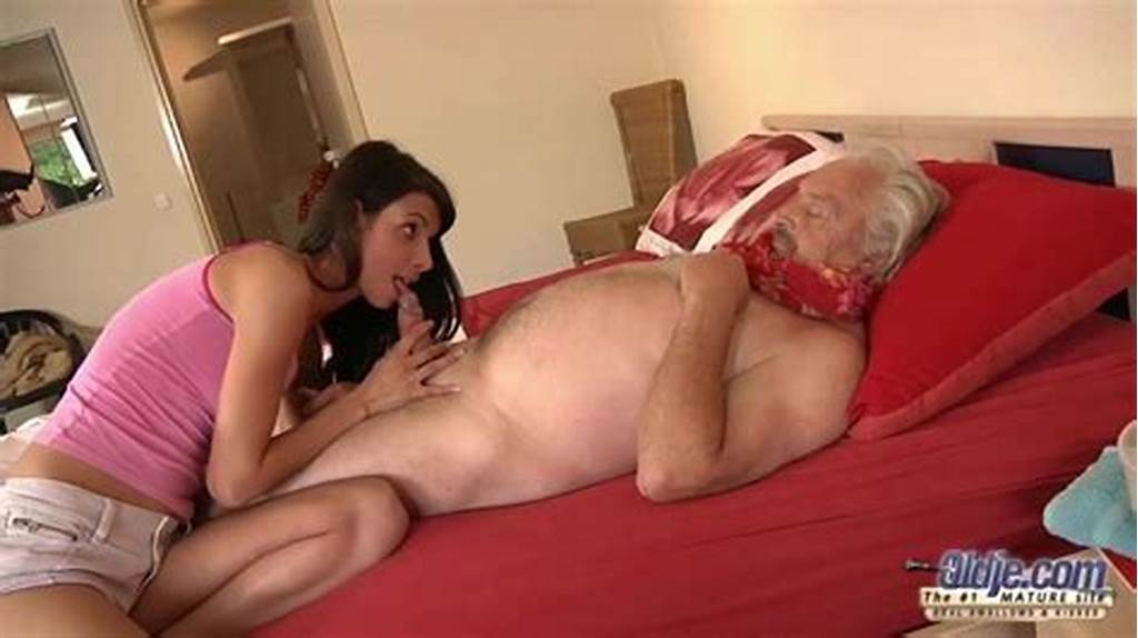 #Young #And #Old #Have #Passionate #Sex #On #The #Bed