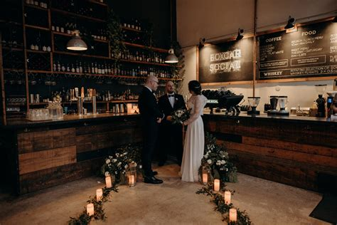 Boxcar coffee roasters is the best coffee shop in colorado. An Intimate New Years Eve Coffee Shop Elopement at Boxcar Social in Toronto - Daring Wanderer