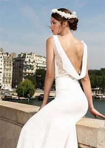 Robe De Mariée Dos Nu Plongeant : les plus beaux dos nu rep r s dans les collections 2019 mari ~ Melissatoandfro.com Idées de Décoration