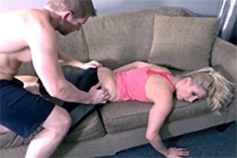 Lustful Stepmom Takes It In All Her Holes
