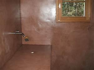 best beton cire salle de bain couleur pictures With beton cire sur carrelage mural salle de bain